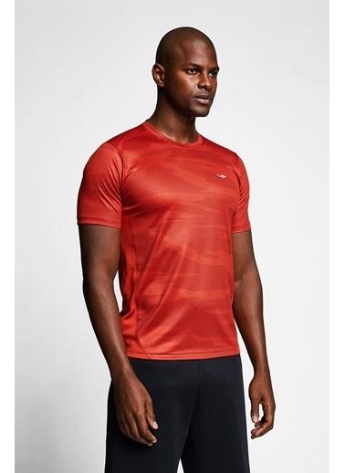 Lescon Kiremit Erkek Kısa Kollu T-Shirt 21B-1023 Kırmızı